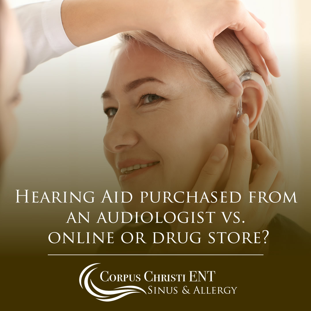 Hearing Aids Purchased from Audiologist