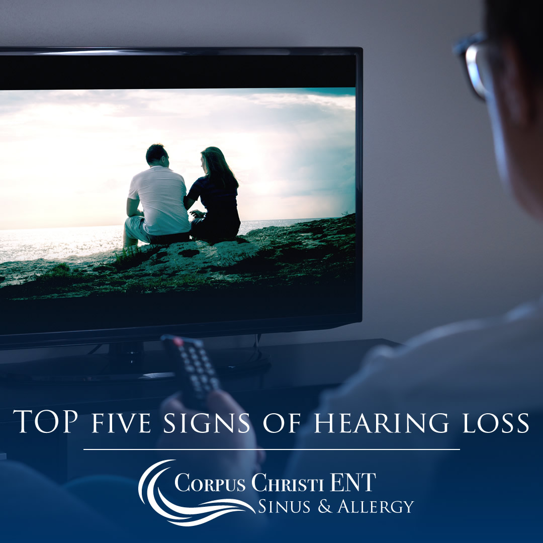 top five signs of hearing loss