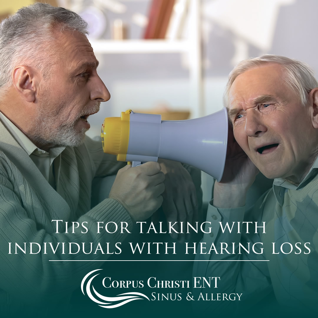 Talking with the hearing impaired